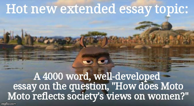 extended essay topic